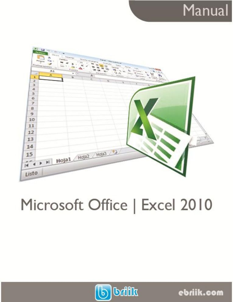 Imágen de pdf Manual Microsoft Office Excel 2010