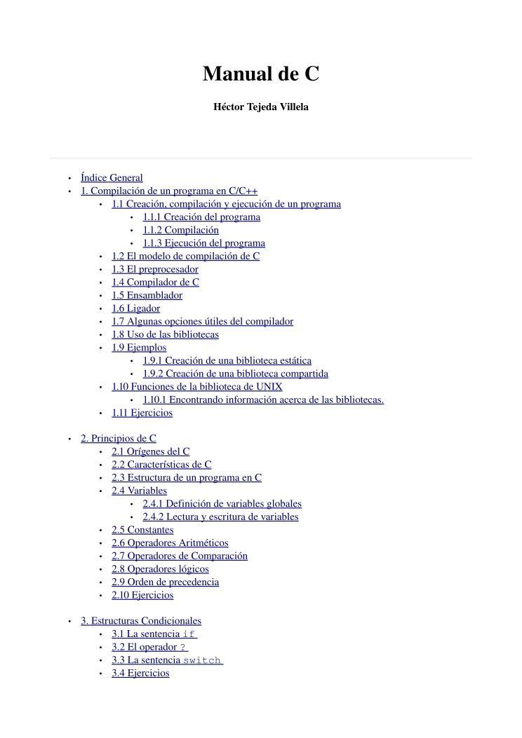 Pdf De Programación Ejercicios Tema 5 Funciones