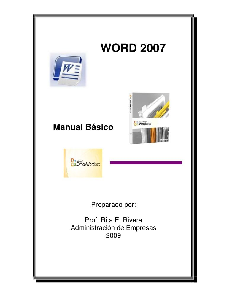 Pdf de programaci n manual word 2007 manual b sico for Manual de acuicultura pdf
