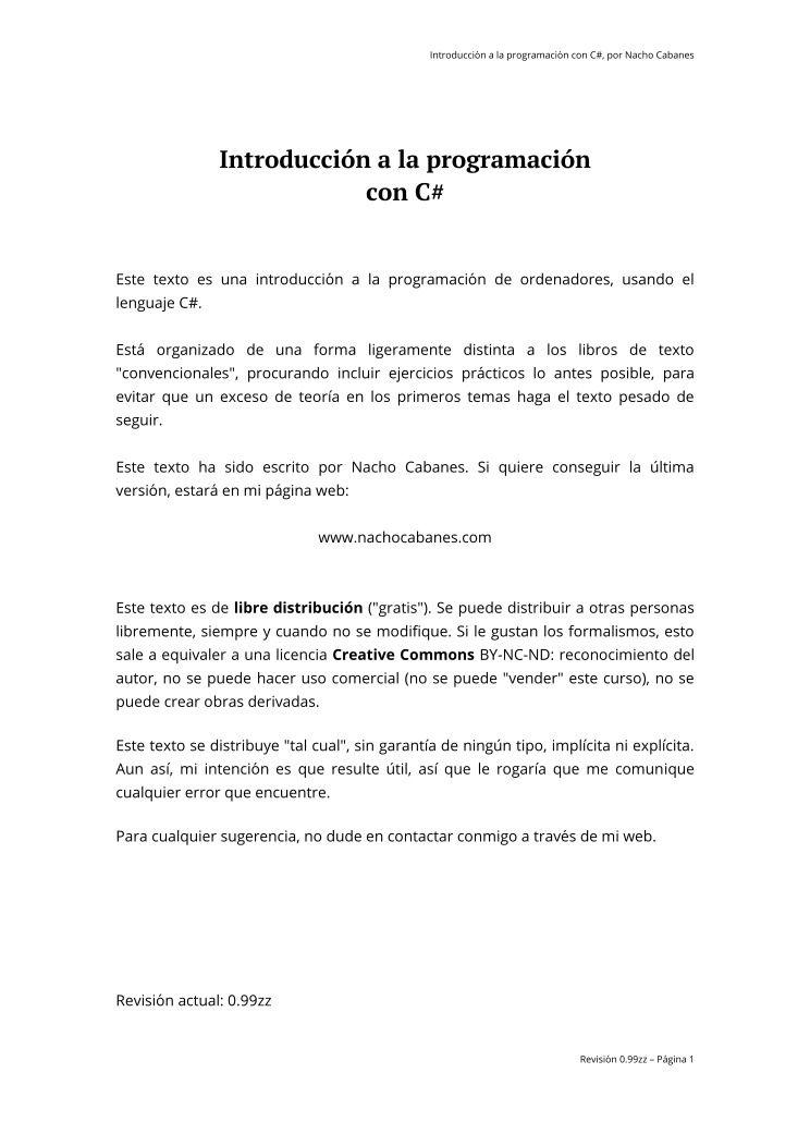 Pdf de programaci n introducci n a la programaci n con c for Introduccion a la gastronomia pdf