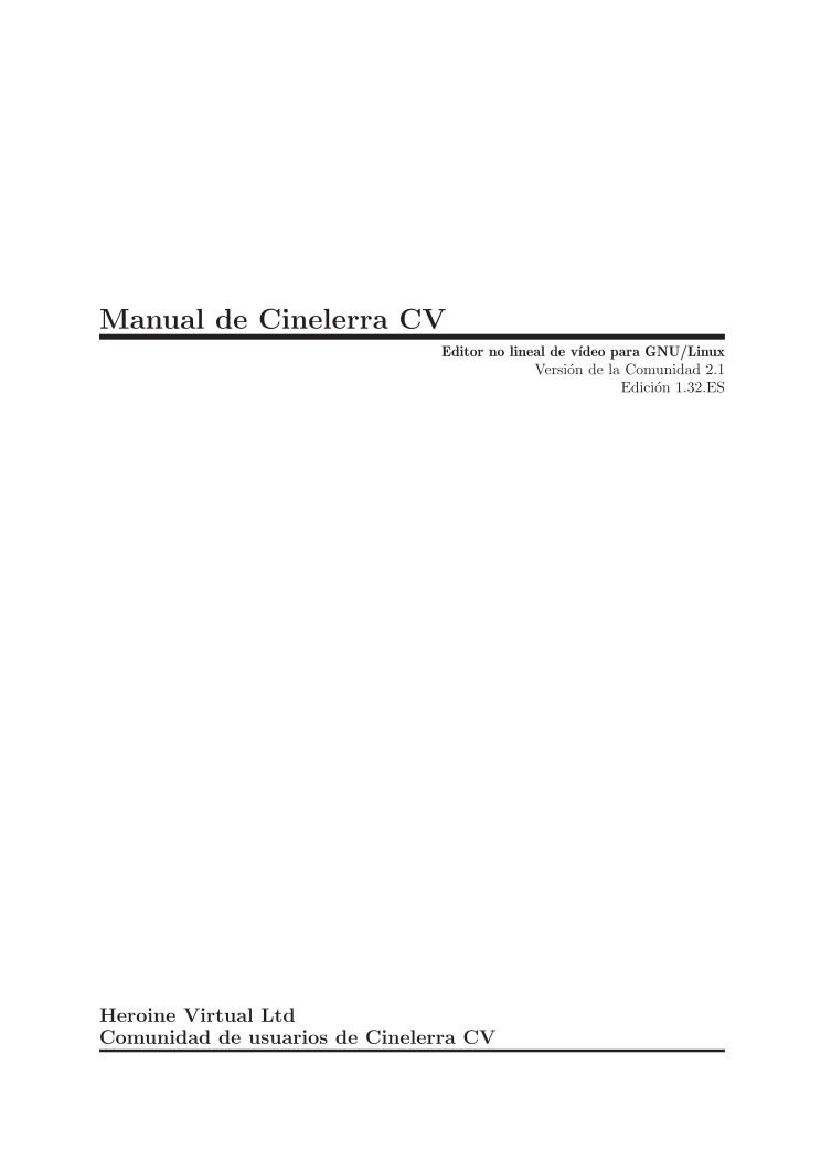 Imágen de pdf cinelerra cv manual