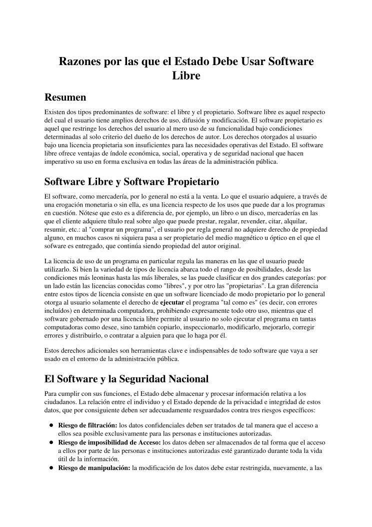 PDF de programación - Razones por las que el Estado Debe Usar ...