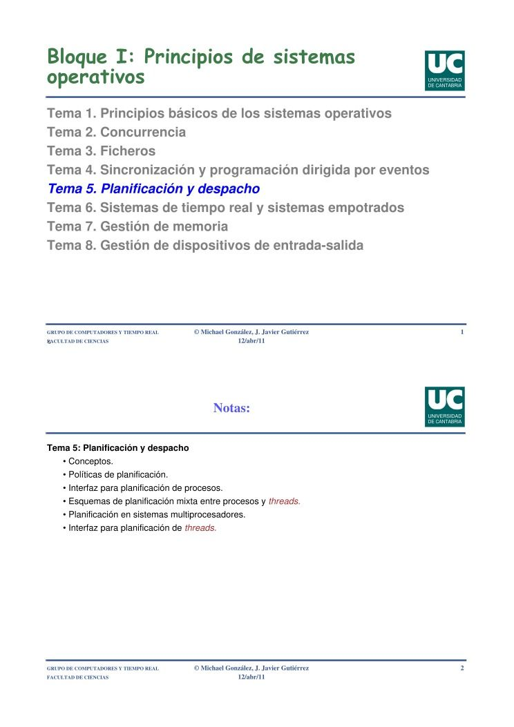 PDF de programación - Bloque I: Principios de sistemas