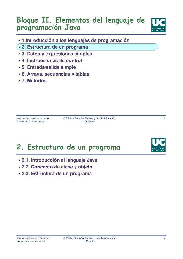 Estadísticas Del Archivo Bloque Ii Elementos Del