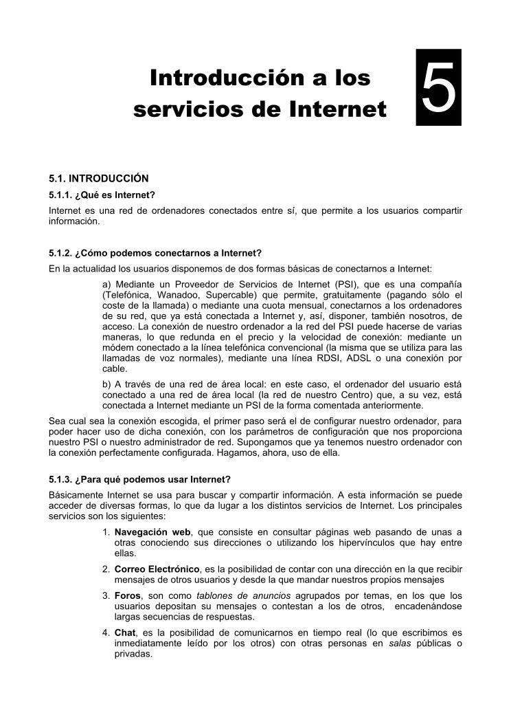 Pdf de programaci n introducci n a los servicios de internet for Introduccion a la gastronomia pdf