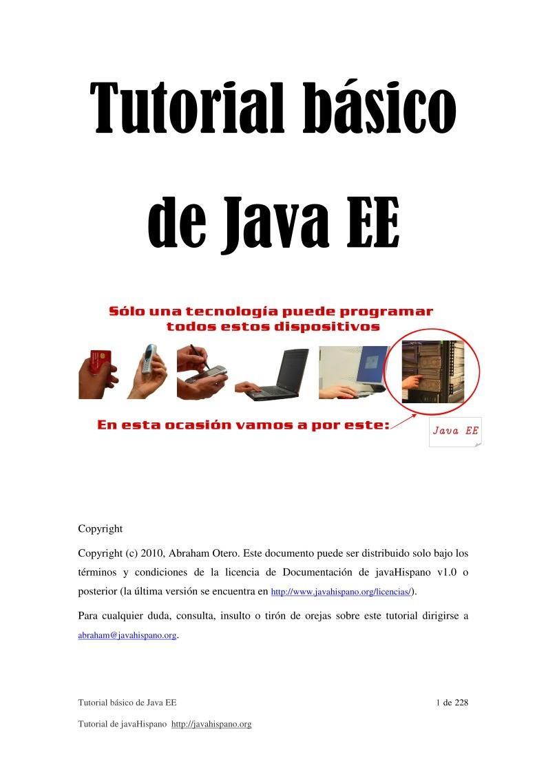 Java ee 6 tutorial pdf gallery any tutorial examples pdf de programacin tutorial bsico de java ee imgen de pdf tutorial bsico de java ee baditri Choice Image