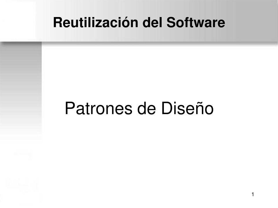 pdf de programación - reutilización del software - patrones de diseño