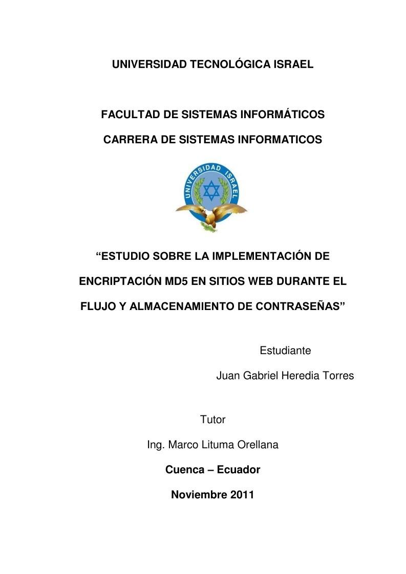 PDF de programación - ESTUDIO SOBRE LA IMPLEMENTACIÓN DE ...