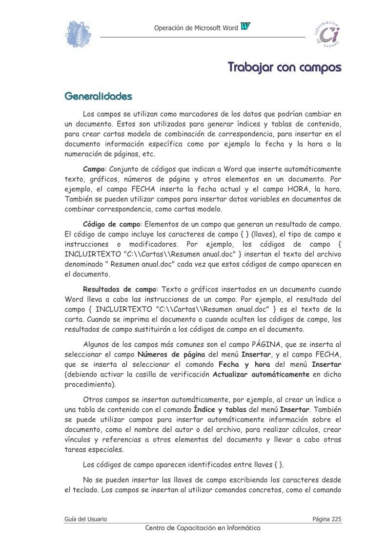PDF de programación - Trabajar con campos - Operación de Microsoft ...