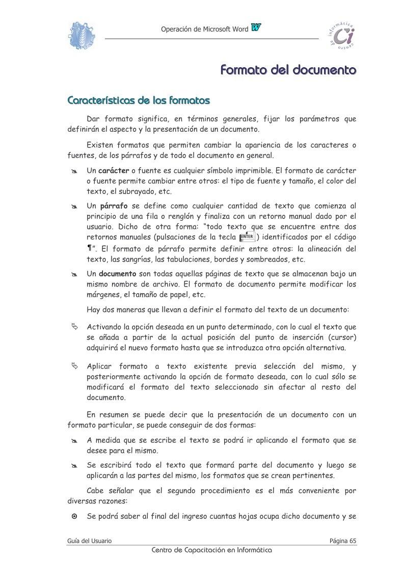 PDF de programación - Formato del documento - Operaciones con ...