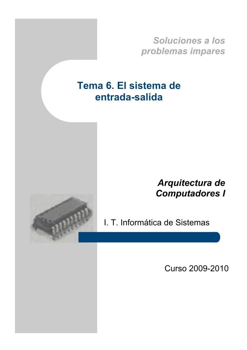 Estad sticas del pdf tema 6 el sistema de entrada salida for Diccionario de arquitectura pdf