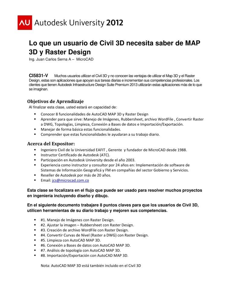 civil 3d 2013 manual pdf
