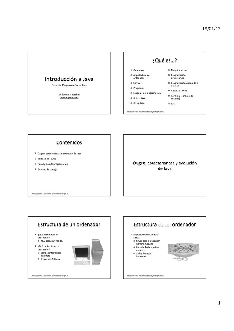 Pdf De Programación Curso De Programación En Java