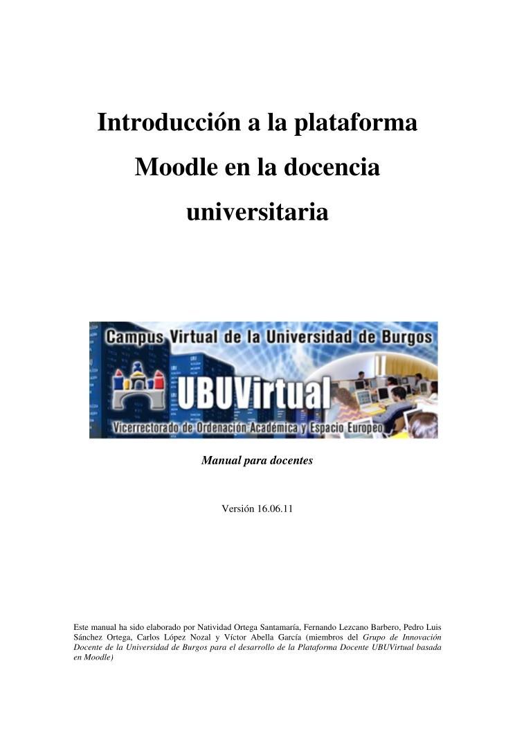 Pdf de programaci n introducci n a la plataforma moodle for Introduccion a la gastronomia pdf
