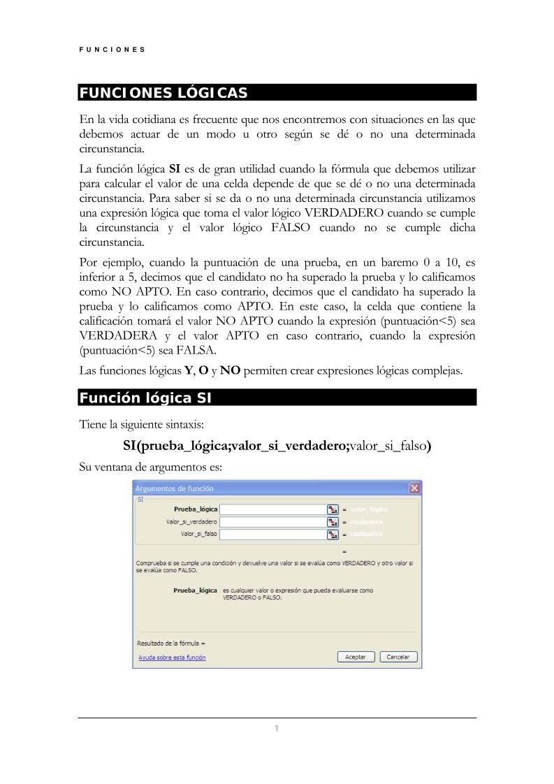 PDF de programación - FUNCIONES LÓGICAS
