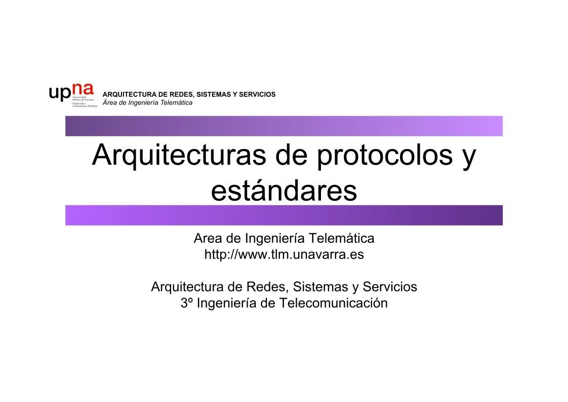 pdf de programaci n arquitectura de protocolos y est ndares