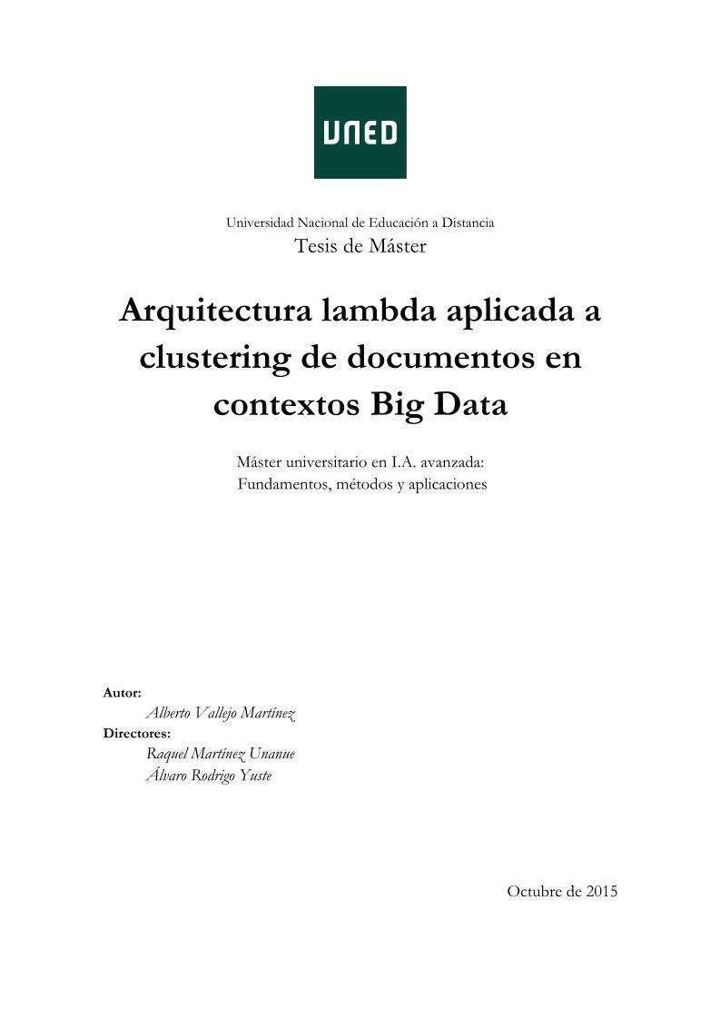 Pdf De Programaci N Arquitectura Lambda Aplicada A