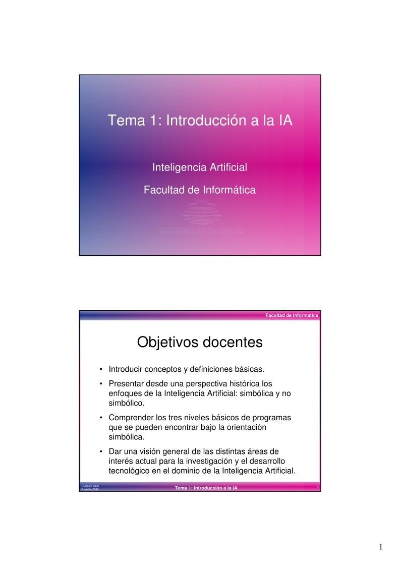 Pdf de programaci n tema 1 introducci n a la ia for Introduccion a la gastronomia pdf