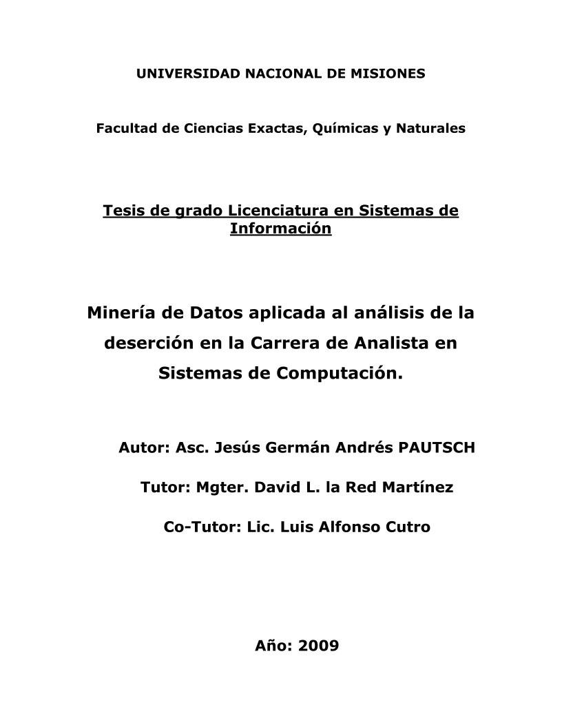 PDF de programación - Minería de Datos aplicada al análisis de la ...