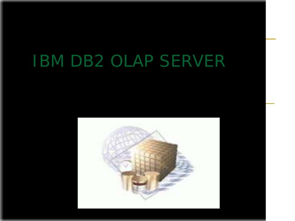 Imágen de pdf IBM DB2 OLAP SERVER