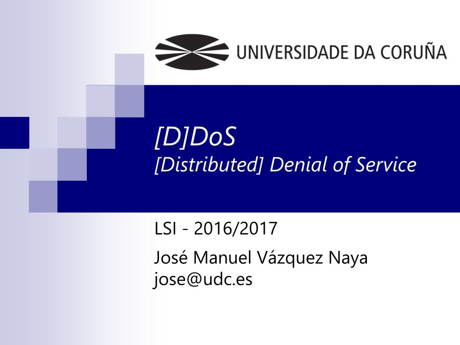 Imágen de pdf [D]DoS [Distributed] Denial of Service