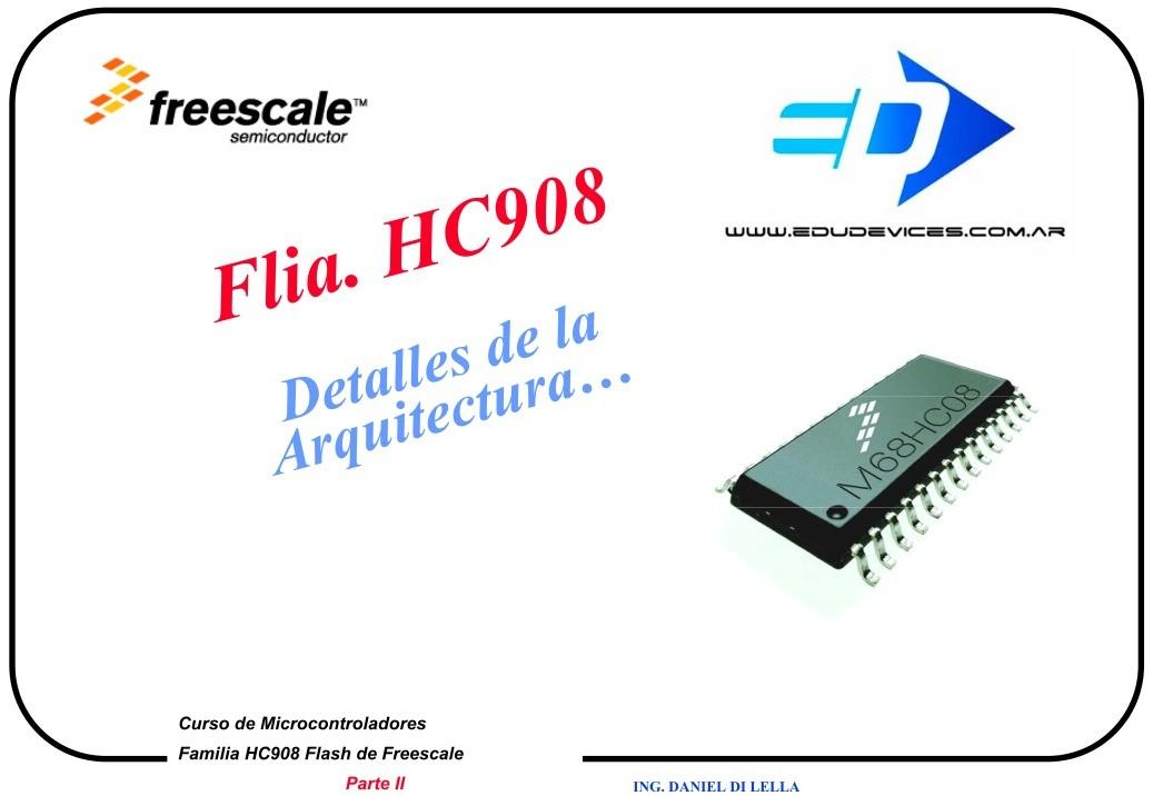 Pdf De Programaci N Hc08 Flash Detalles De La Arquitectura