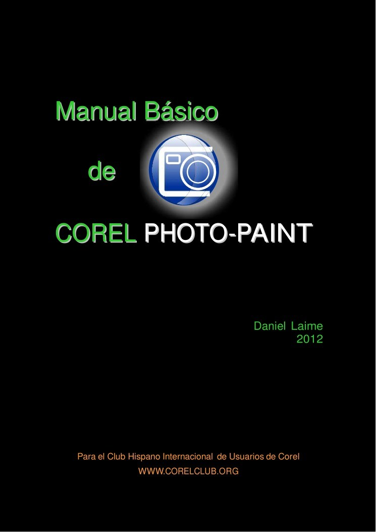 Imágen de pdf Manual básico de Corel Photo-Paint