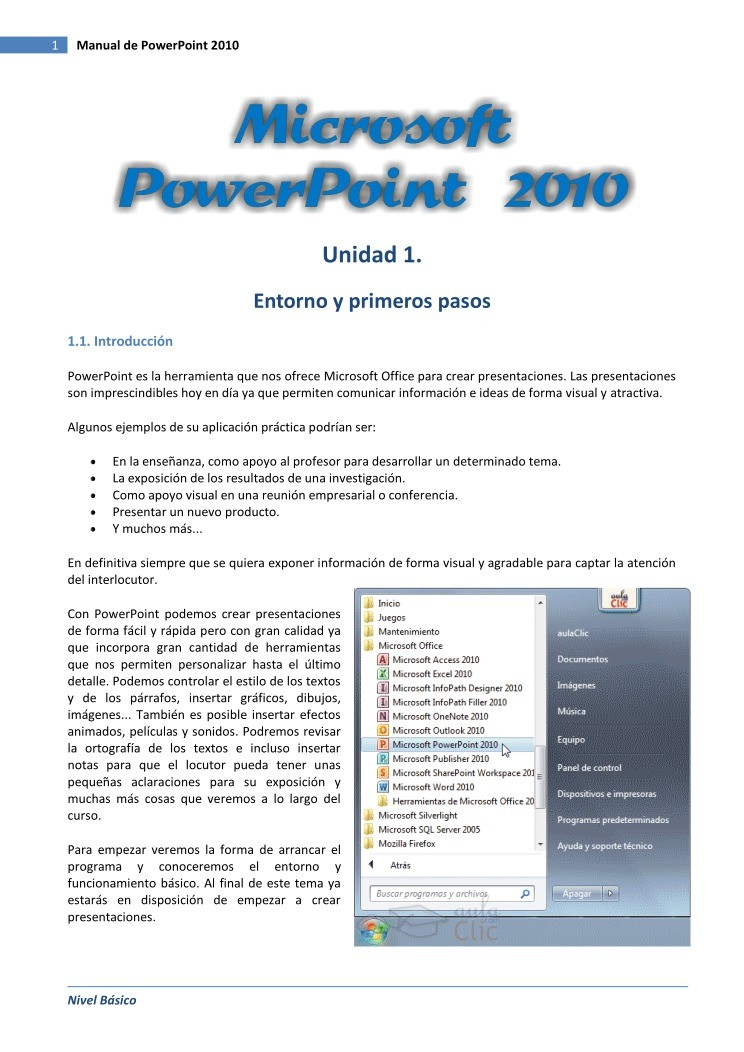 Pdf de programaci n manual de powerpoint 2010 for Manual de acuicultura pdf