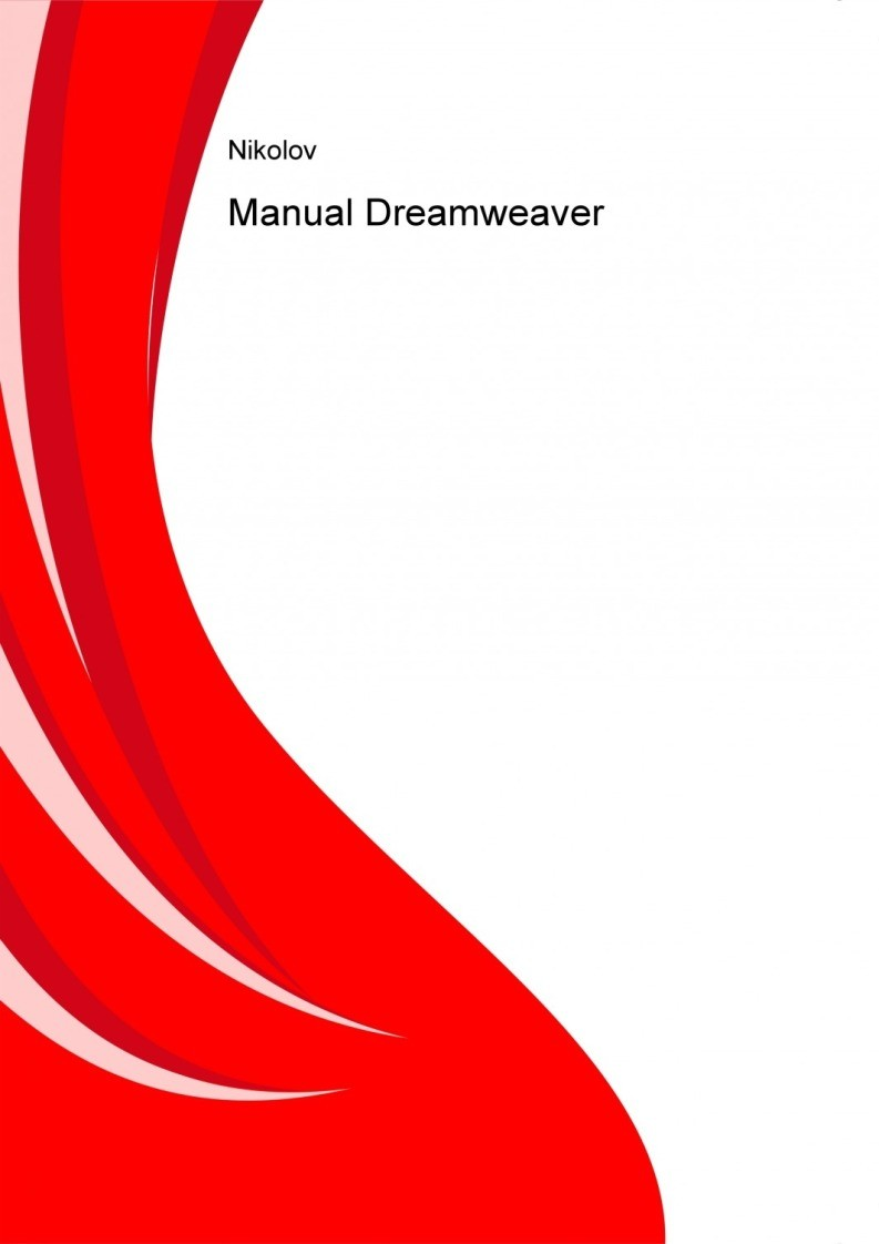 Imágen de pdf Manual Dreamweaver