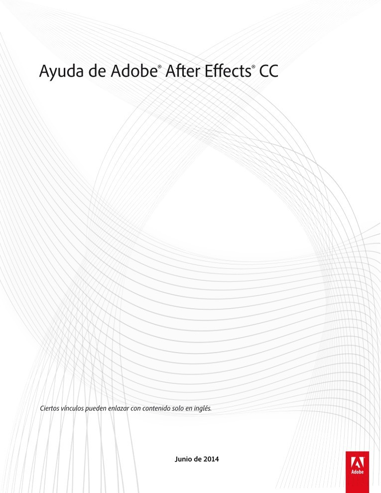 Imágen de pdf Ayuda de Adobe After Effects CC