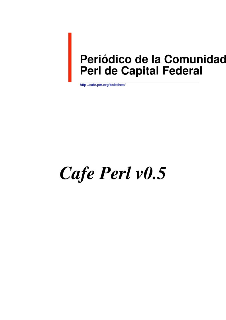 Imágen de pdf CaFePerl Issue05