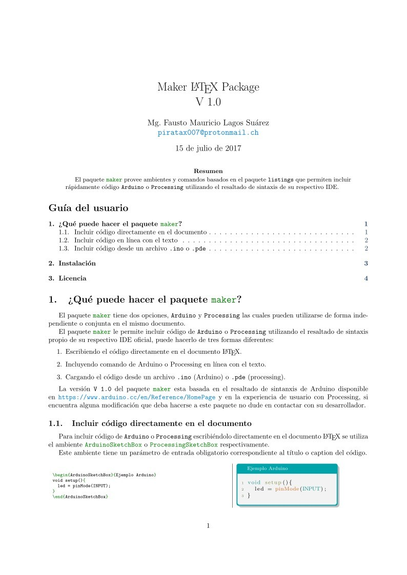 Imágen de pdf Maker LATEX Package