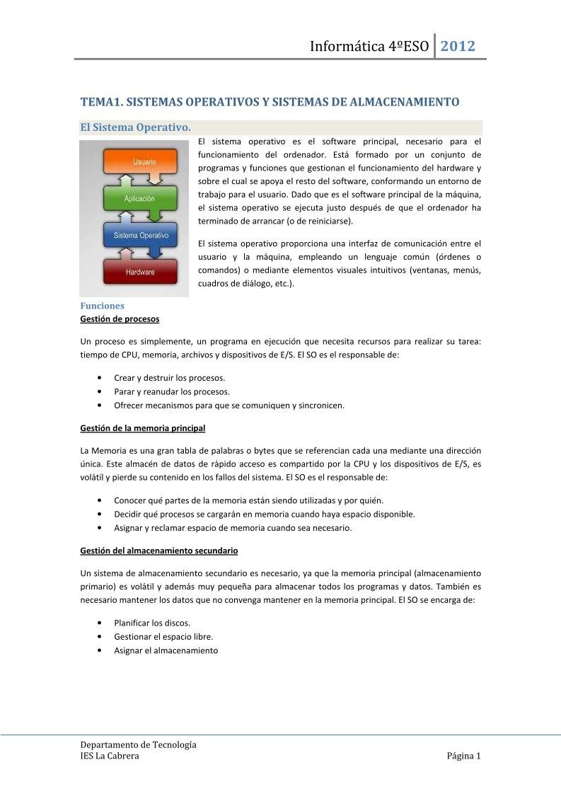 PDF de programación - Tema1. Sistemas operativos y sistemas de ...