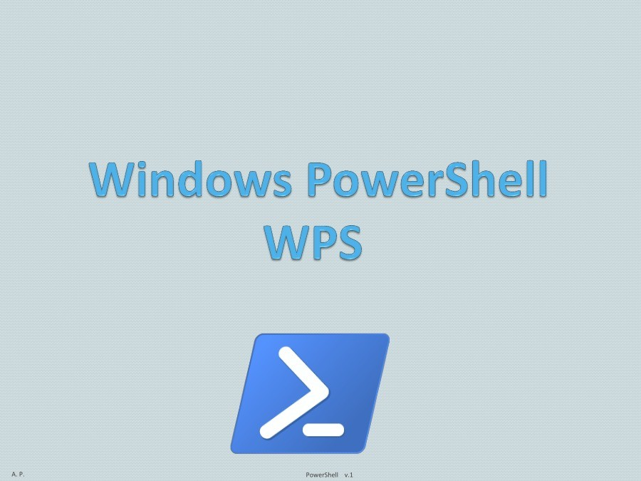 Imágen de pdf Windows PowerShell WPS