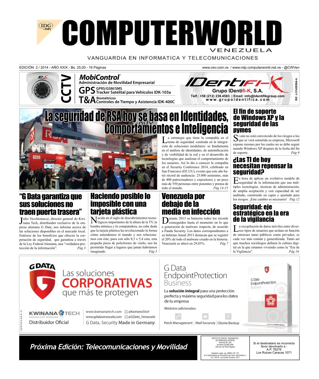 Imágen de pdf ComputerWorld #2 2014