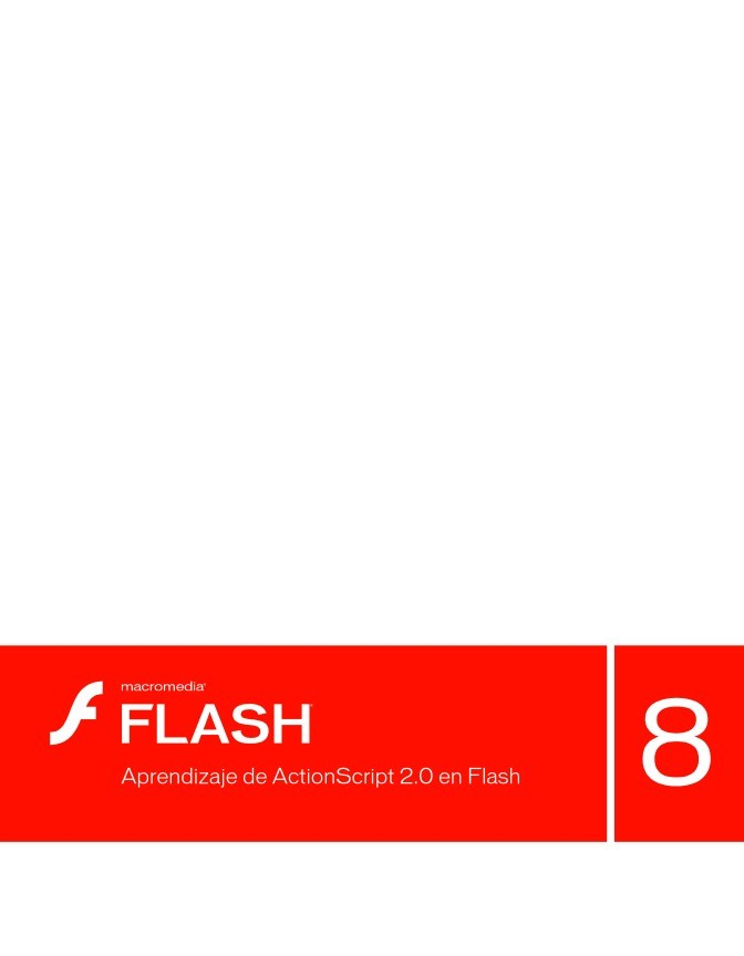Imágen de pdf Aprendizaje de ActionScript 2.0 en Flash