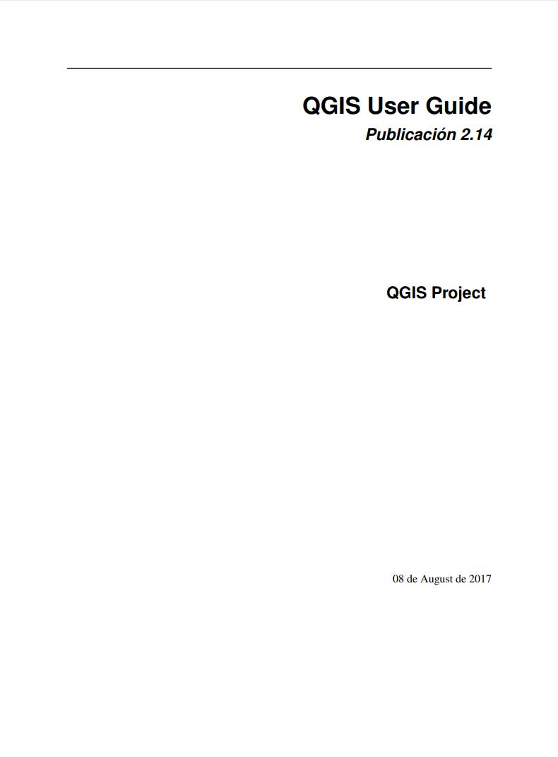 Imágen de pdf QGIS User Guide