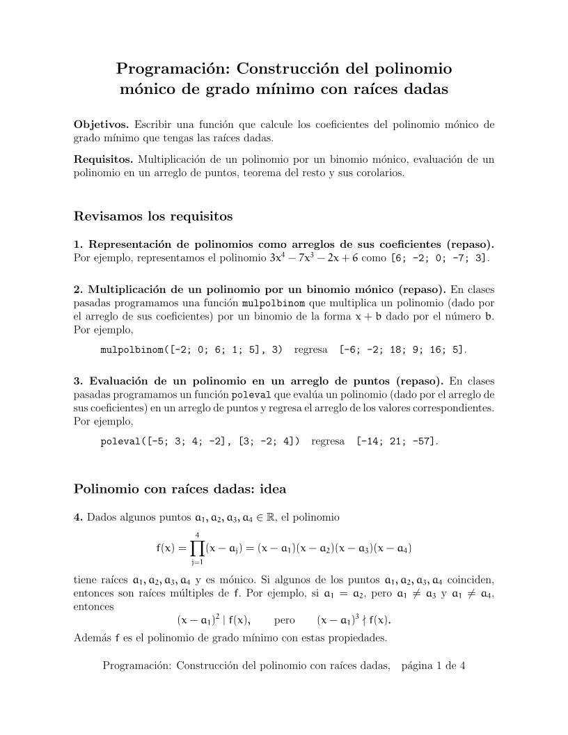 Famoso Teorema Del Binomio Hoja Pdf Bandera - hojas de trabajo ...