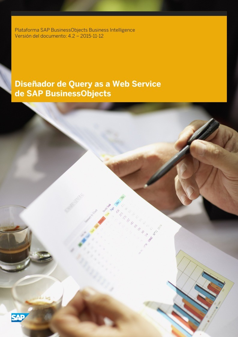 Imágen de pdf Diseñador de Query as a Web Service de SAP BusinessObjects - Plataforma SAP BusinessObjects Business Intelligence