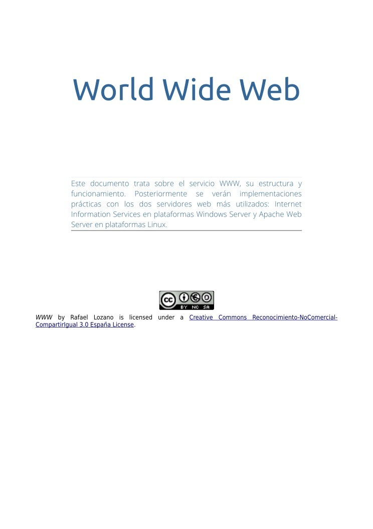 Imágen de pdf World Wide Web