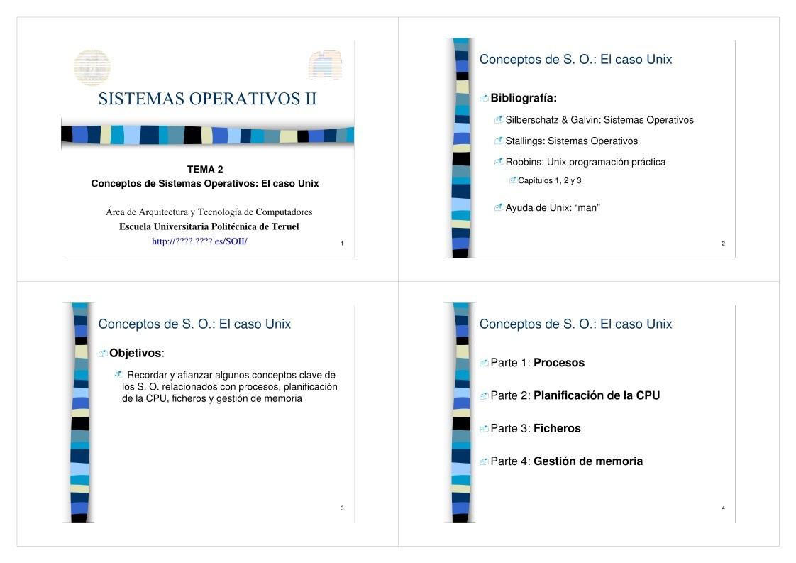 PDF de programación - Tema 2 - Conceptos de Sistemas