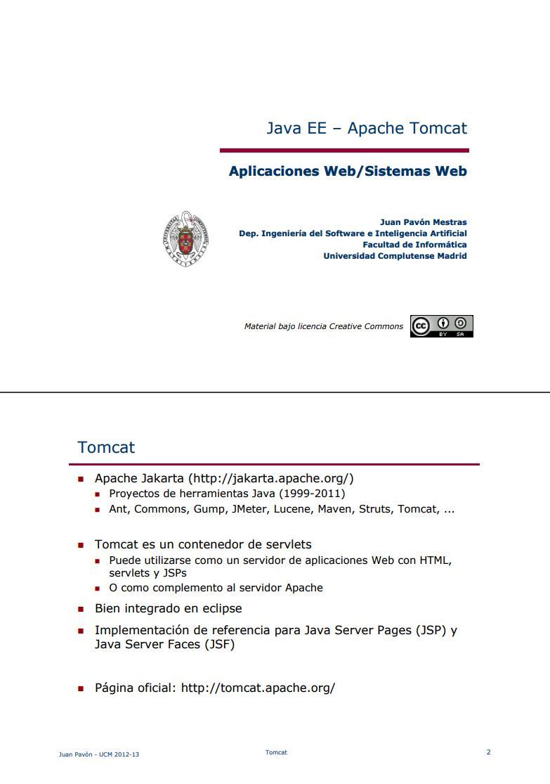 Pdf De Programación Java Ee Apache Tomcat