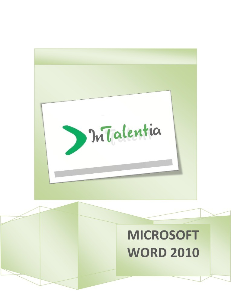 Imágen de pdf Microsoft Office Word 2010