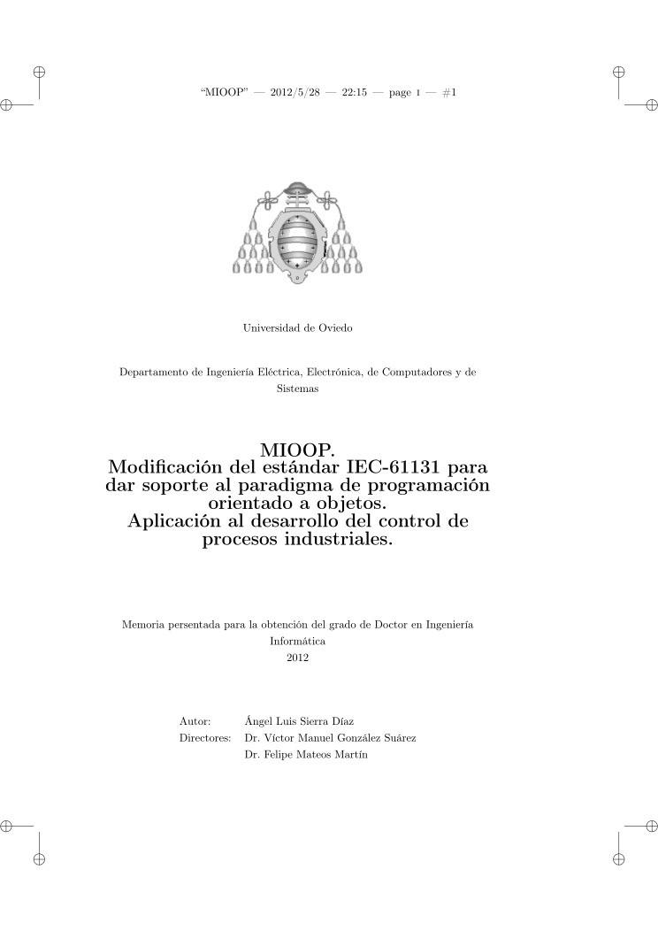 PDF de programación - MIOOP  Modificación del estándar IEC