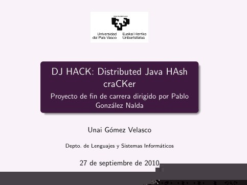 Imágen de pdf DJ HACK: Distributed Java HAsh craCKer