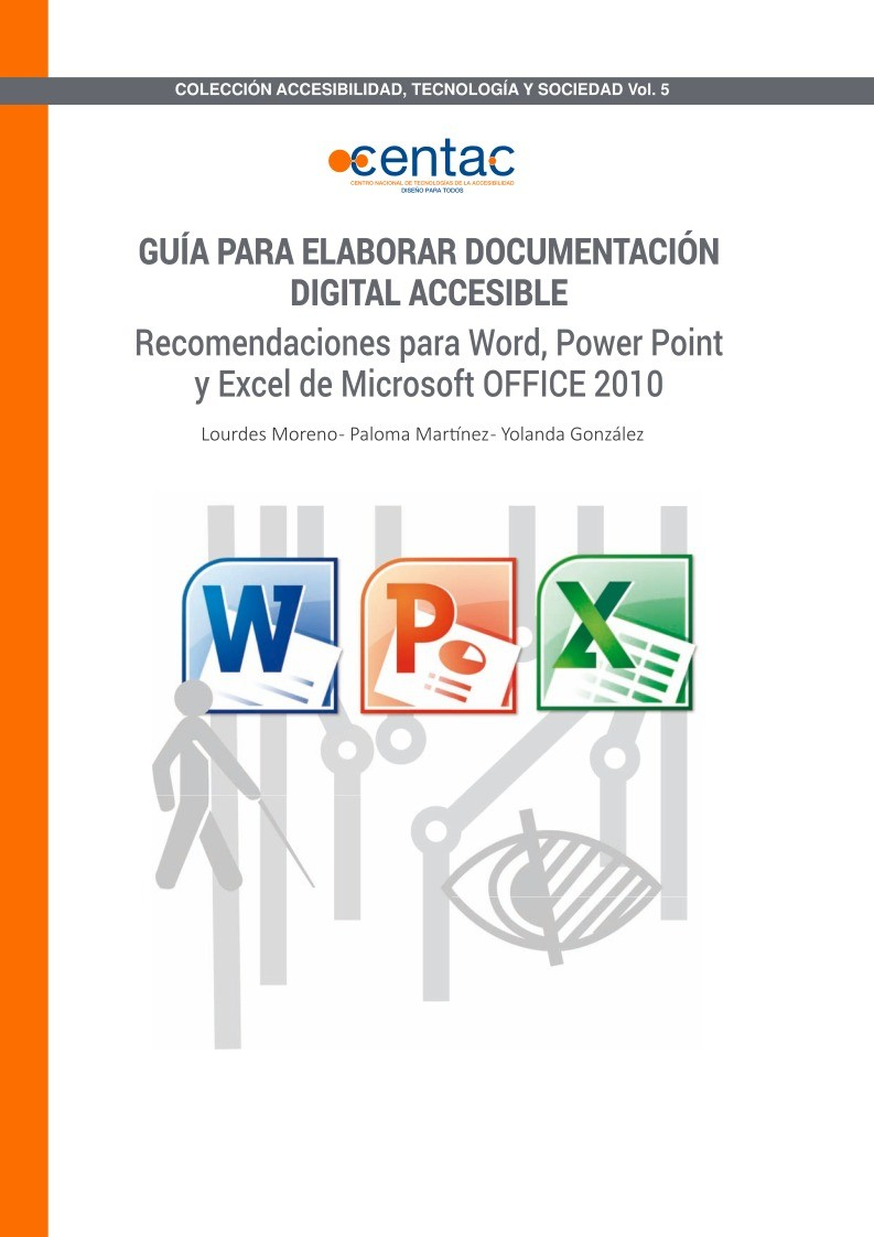 Imágen de pdf Guía para elaborar Documentación Digital Accesible con Office 2010