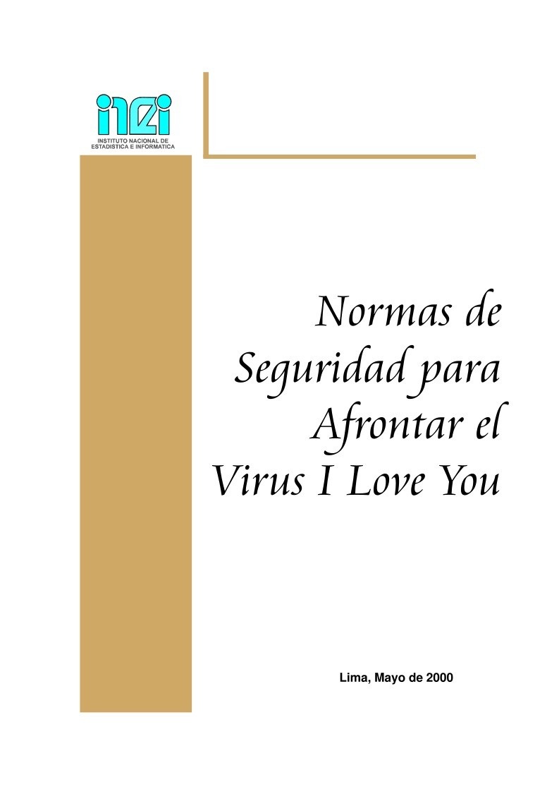 Imágen de pdf como afrontar el virus I LOVE YOU