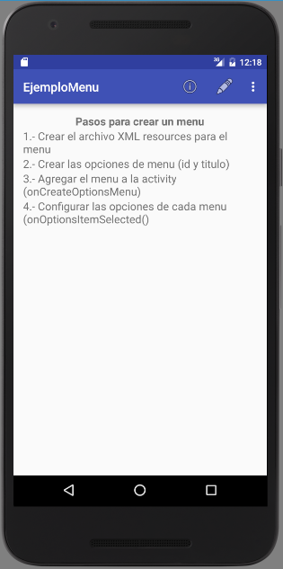 android-menu-actionbar