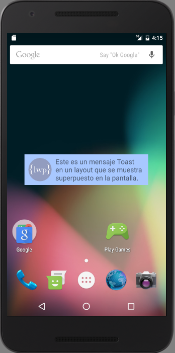 android-toast-layout
