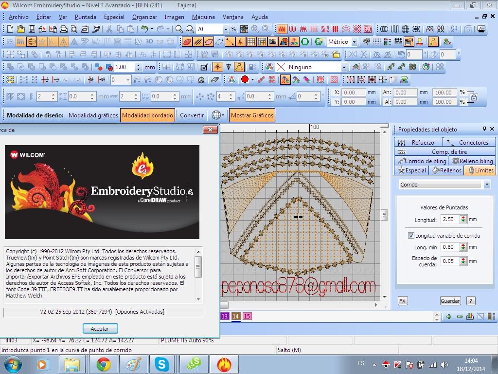programa de bordado wilcom 2006 gratis